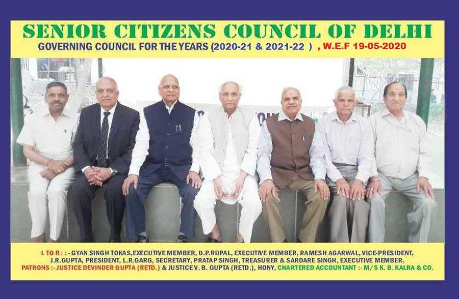 Senior Citizens Council of Delhi - home page